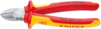 Knipex diagonal cutters 140mm insulated (70 06 140)