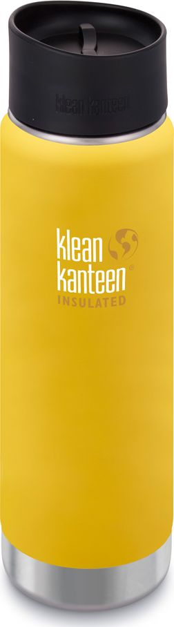 Klean Kanteen Termos Wide Vacuum Insulated 592ml Lemon Curry Matt termoss
