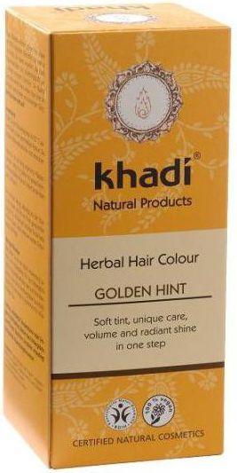 Khadi Henna natural GOLDEN BLOND