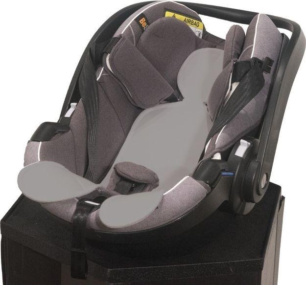 Kuli-Muli Wkladka antypotowa do fotelika samochodowego 0-13 kg - szara KM-801-01-0000-20 Bērnu sēdeklīšu aksesuāri
