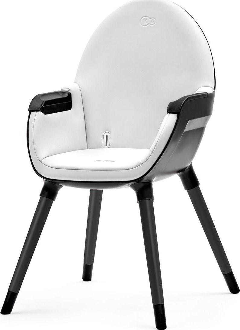 Kinderkraft High chair Fini Full Black bērnu barošanas krēsls