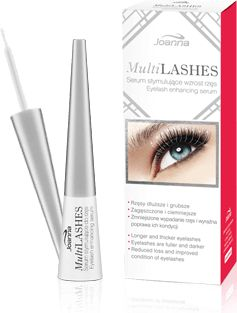 Joanna Multi Lashes Serum stimulating the growth of eyelashes 4ml skropstu tuša