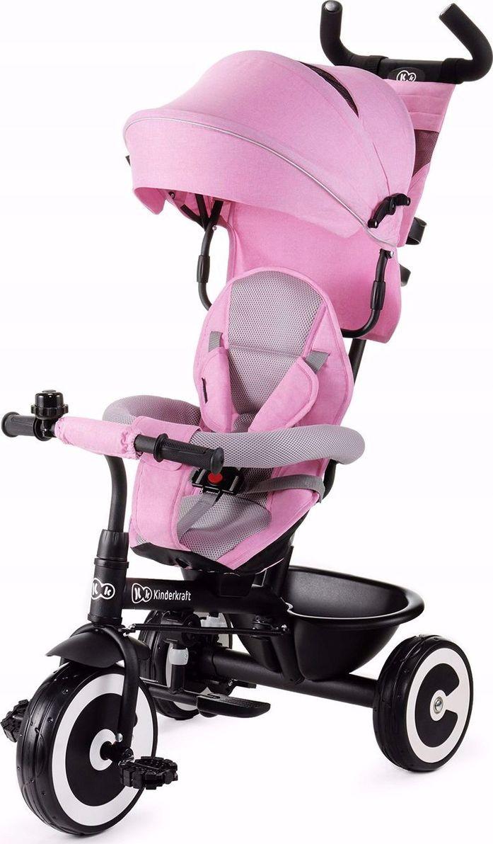 Bicycle KinderKraft Aston KKRASTOPNK0000 (pink color) bērnu ratiņi