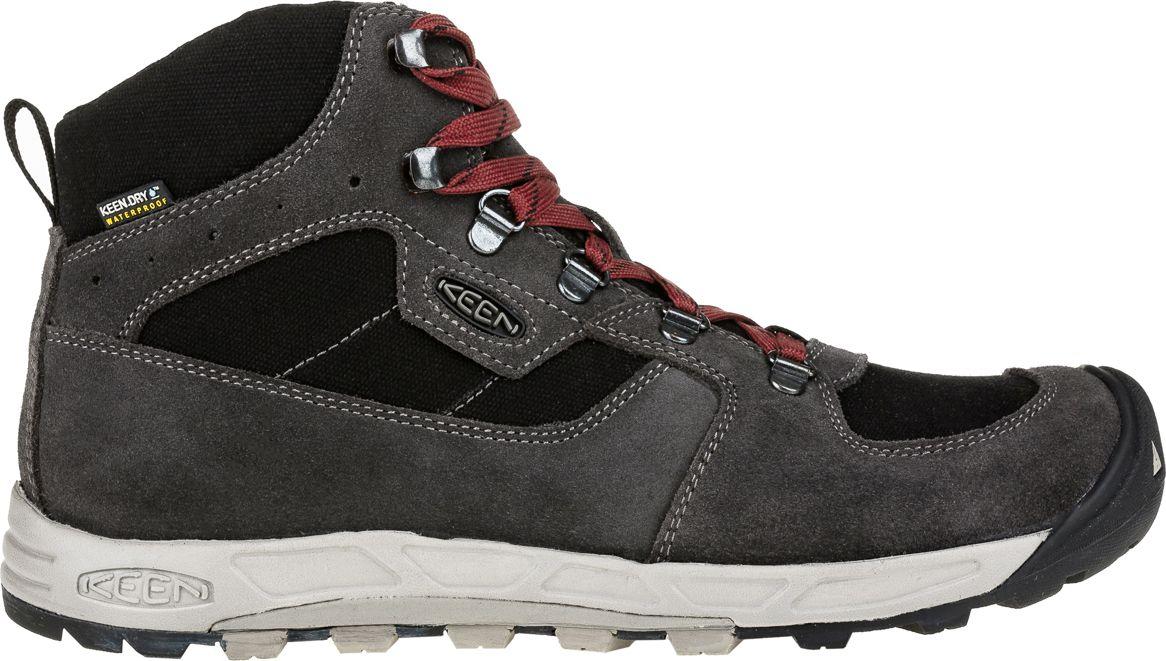 Keen Buty meskie Westward Mid WP European Made Gargoyle/Black r. 45 (116998) WESTWRDMW-MN-GYBK Tūrisma apavi