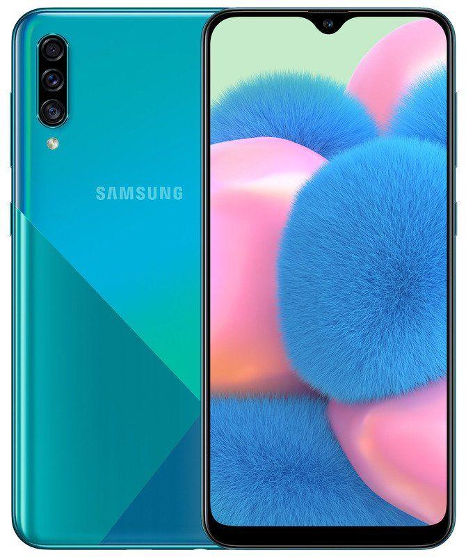 Samsung Galaxy A30s 4GB/64GB Green Mobilais Telefons