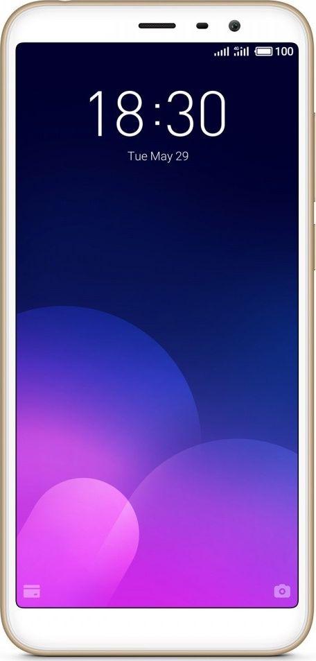 Meizu M6T 2GB/16GB Gold Mobilais Telefons