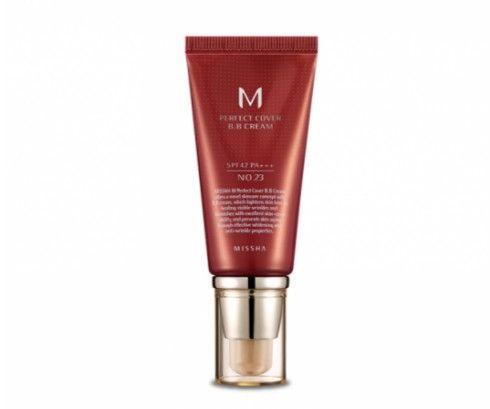Missha M Perfect Cover BB Cream SPF42/PA+++  23 Natural Beige 50ml tonālais krēms