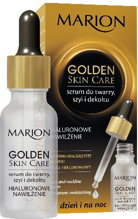 Marion Golden Skin Care Moisturizing Serum for the face, neck and décolleté 20ml kosmētika ķermenim