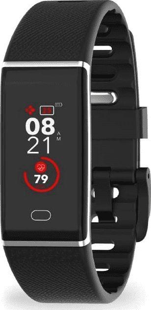 MyKronoz ZeTrack Black Smartband Viedais pulkstenis, smartwatch