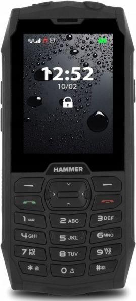 Telefon komorkowy myPhone Hammer 4 czarno-srebrny Hammer4 Mobilais Telefons