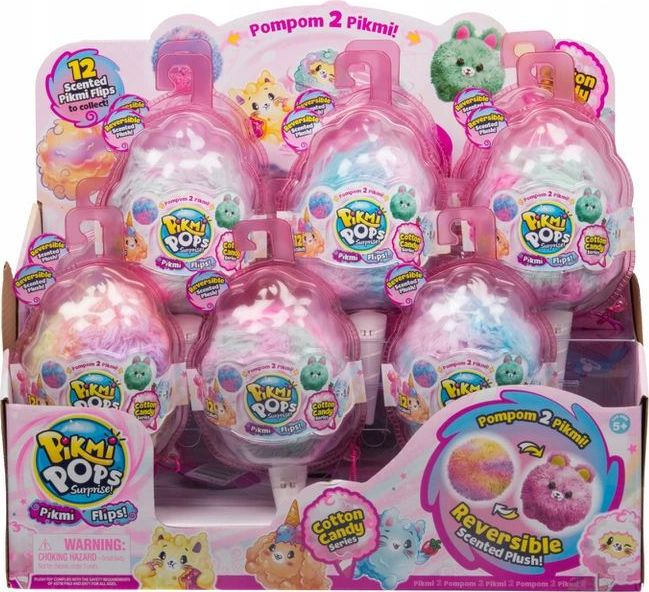 Moose Pikmi Pops S3 Flip 2in1 soft toy (12 pcs)