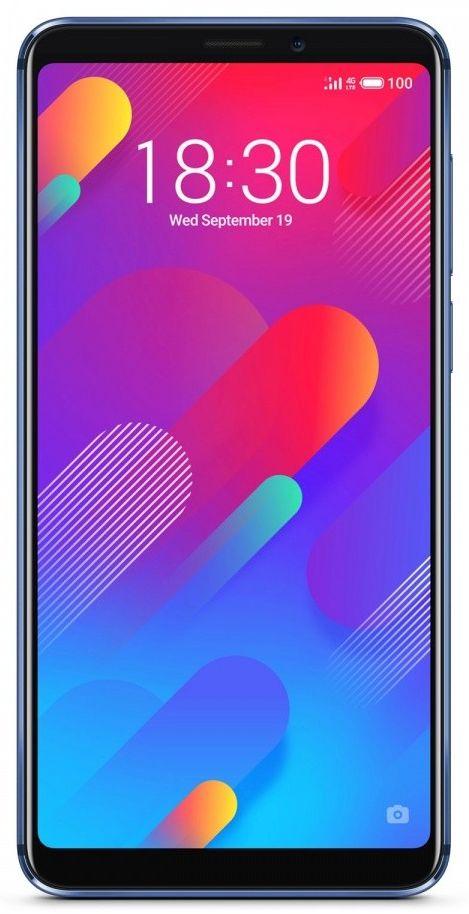 Smartfon Meizu M8 4/64GB Dual SIM Niebieski  (MEIZUM864GBBLUE) MEIZUM864GBBLUE Mobilais Telefons