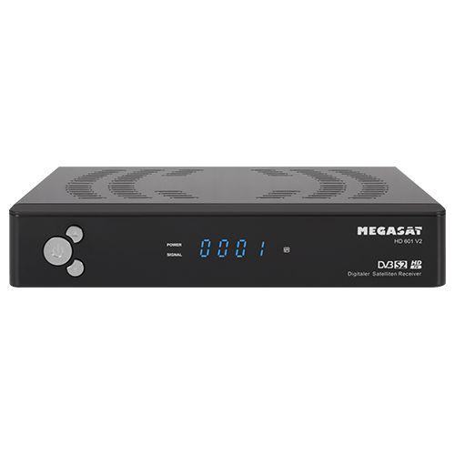Tuner TV Megasat HD 601 V2 (HD601V2) uztvērējs