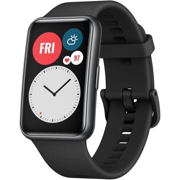 HUAWEI WATCH FIT Graphite Black Viedais pulkstenis, smartwatch