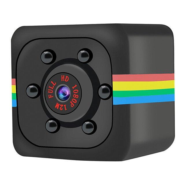 RoGer SQ11 HD Web Kamera ar Mikrofonu Melna web kamera