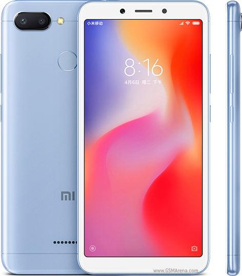 XIAOMI Redmi 6 4GB/64GB Blue Mobilais Telefons