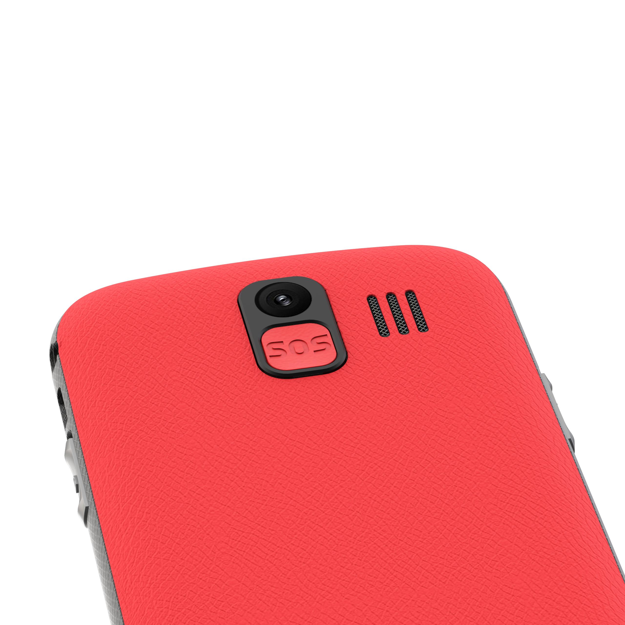 NOUS NS2422 Helper Dual SIM Red Mobilais Telefons