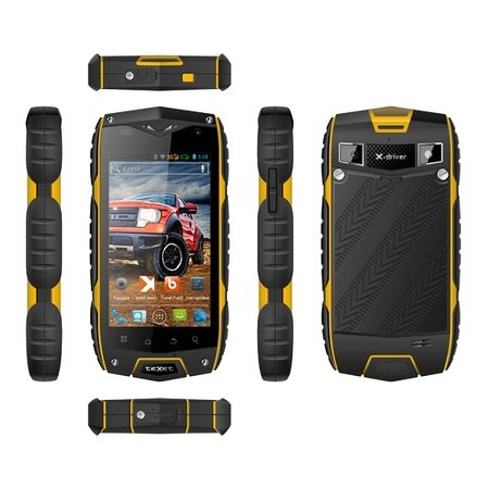 Texet TM-4104R X-Drive Dual black/yellow USED 9902941029243 T-MLX26533 Mobilais Telefons