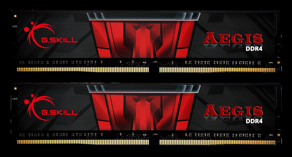 G.Skill Aegis DDR4 16GB (2x8GB) 3200MHz CL16 1.35V XMP 2.0 operatīvā atmiņa
