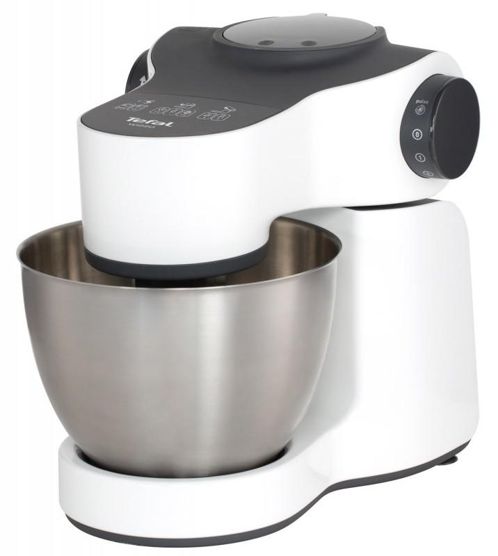 TEFAL virtuves kombains Wizzo 700W, balts/melns QB300138 Virtuves kombains