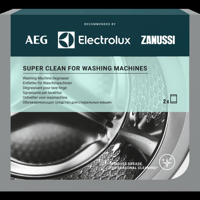 Electrolux Super Clean attaukotājs veļas mašīnām, iepakojumā 2 gab.x50g M3GCP200 Sadzīves ķīmija