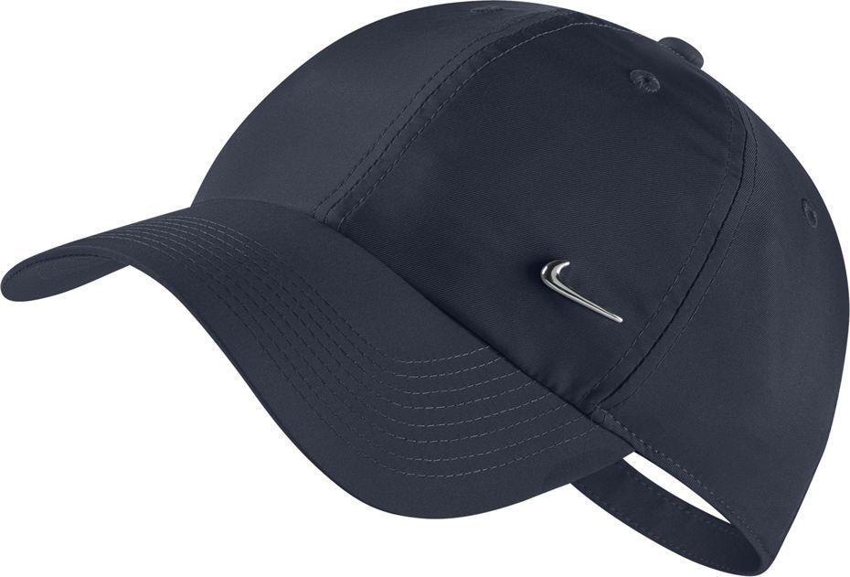 Nike Unisex H86 Cap Metal Swoosh navy blue