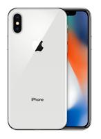 Apple iPhone X 64GB Silver (refurbished) (6 mēn. garantija) Mobilais Telefons