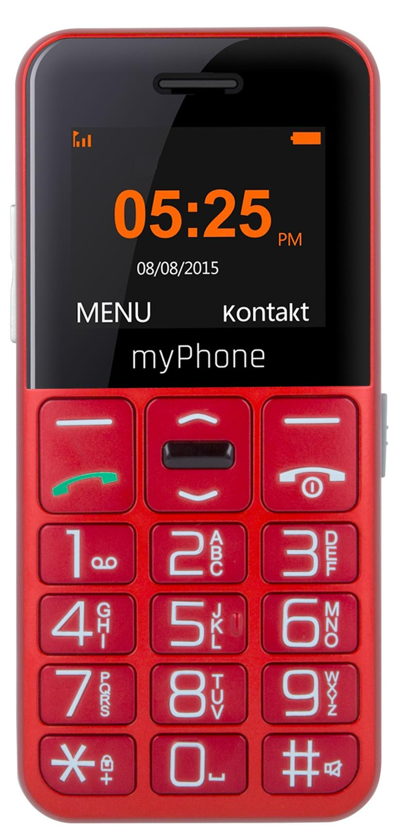 MyPhone HALO Easy red Mobilais Telefons