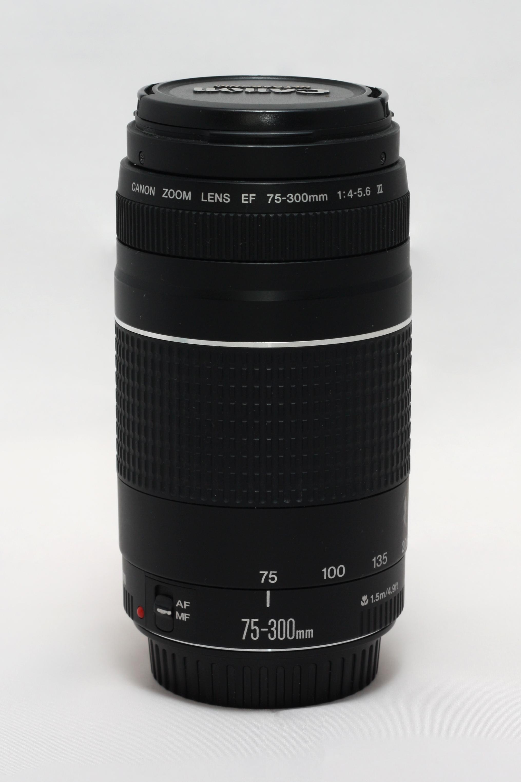 Canon EF 75-300mm f/4-5.6 III foto objektīvs