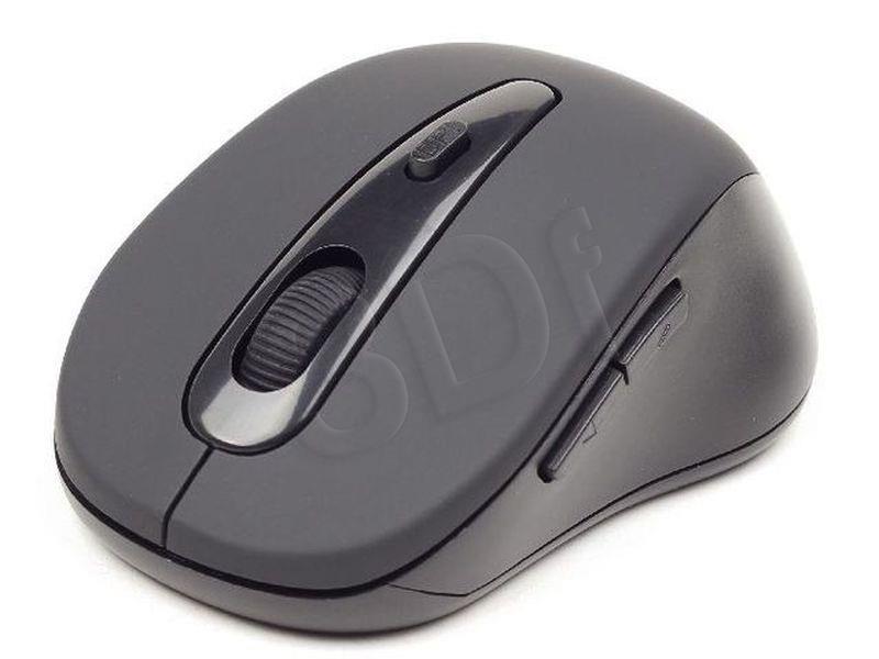 Datora pele MUSWB2 Gembird Bluetooth optical mouse 1600 DPI, black Gembird