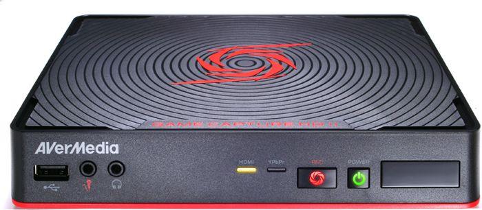 AVerMedia Capture HD II (61C2850000AD-CED) spēļu aksesuārs