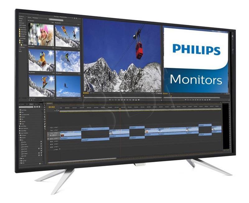 Philips BDM4350UC/00 42'', 4K, panel IPS, D-Sub//DPx2/HDMIx2/MHLx2  USB monitors