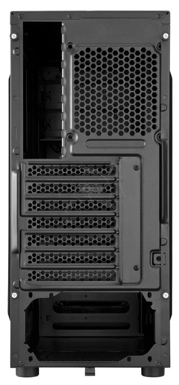 Corsair computer case Carbide Series SPEC-01 RED LED Mid Tower Gaming Datora korpuss