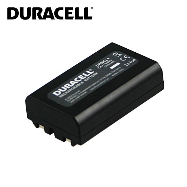Duracell Premium Analogs Nikon EN-EL1 Akumul tors CoolPix 775 880 995 DG-5W 7.4V 750mAh