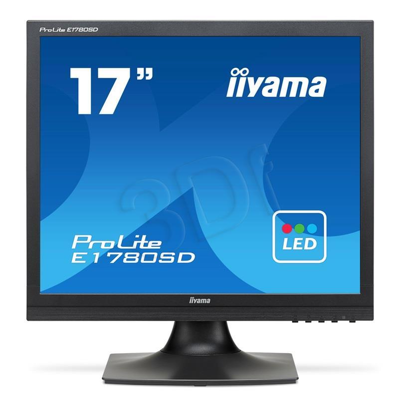 Iiyama E1780SD-B1 TN, SXGA, DVI, Speakers monitors