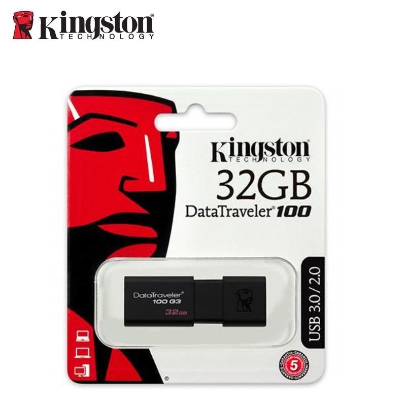 KINGSTON 32GB USB3.0 DataTraveler 100 G3 USB Flash atmiņa