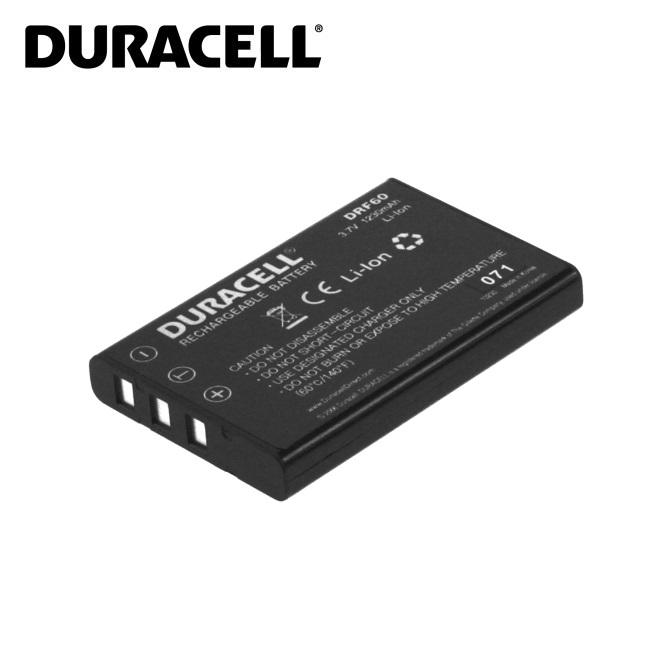 Duracell Premium Analogs Fuji NP-60 Akumul tors FinePix F401 50i Panasonic SV-AS3 3.7V 1150mAh