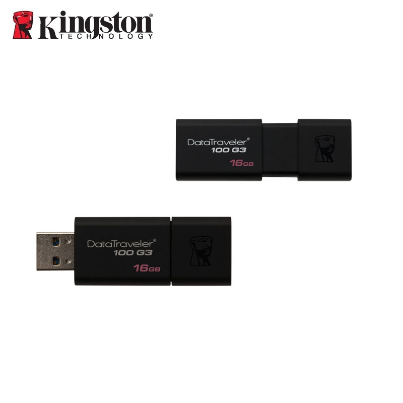 KINGSTON 16GB USB3.0 DataTraveler 100 G3 USB Flash atmiņa