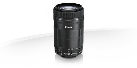 CANON EF-S 55-250mm f/4-5.6 IS STM foto objektīvs