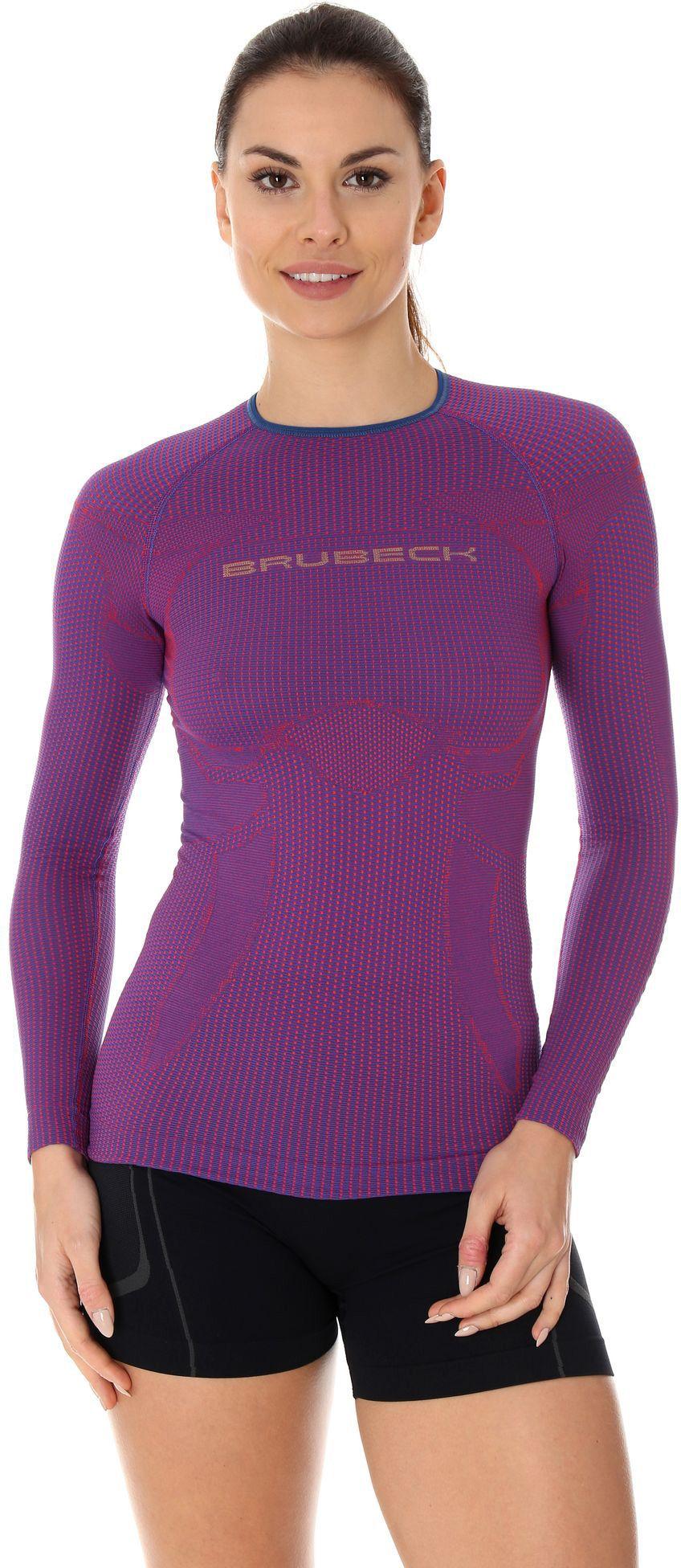 Brubeck Koszulka damska 3D Run Pro purpurowa r. L (LS13140) 4773369