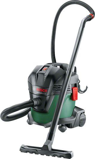 Bosch UniversalVac 15, wet and dry vacuum cleaner(green) Putekļu sūcējs