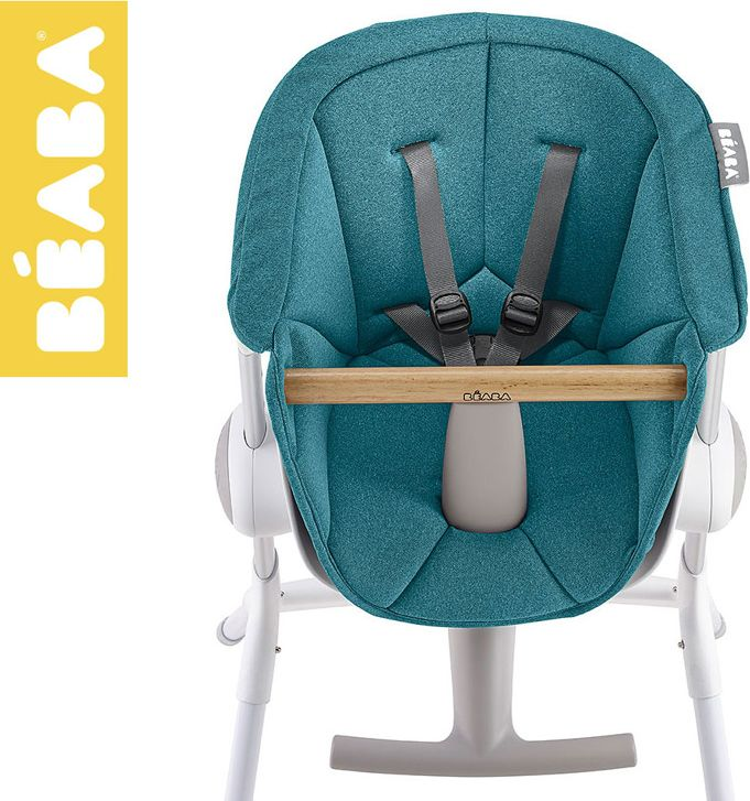 Beaba Beaba Miekki wklad do Krzeselka do karmienia Up&Down blue 912589 bērnu barošanas krēsls