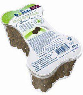 Bosch Tiernahrung Finest Snack Goodies Grain Free pojemnik 450g 55761