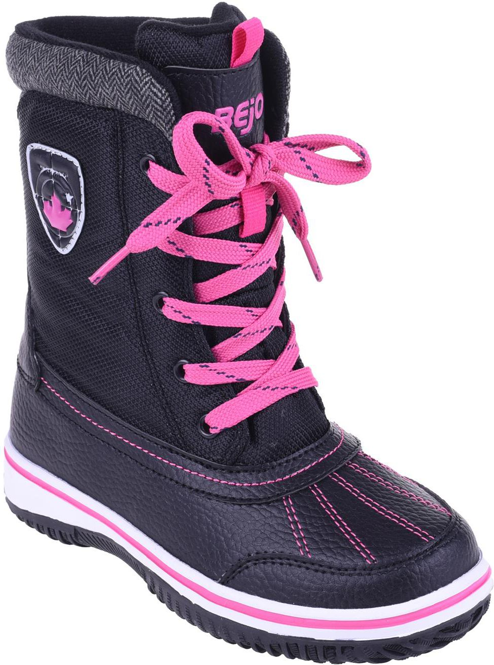 BEJO Buty Juniorskie Inari JR Black/Fuchsia r. 34 5901979196358