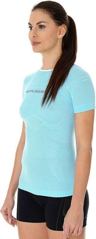 Brubeck Koszulka damska  3D Run Pro  blekitna r. M (SS12030) 4773306