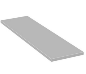 Braket Polka szara oklejona BRAKET 800x245mm - G-140-6602 G-140-6602