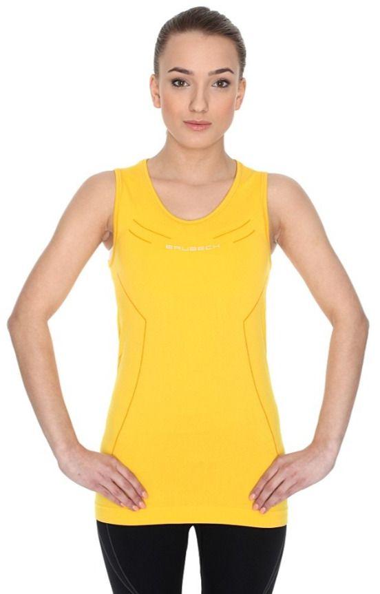 Brubeck Koszulka damska Athletic bez rekawow turkusowa r.XL (TA10200) TA10200