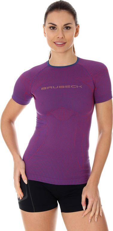 Brubeck Koszulka damska 3D Run Pro purpurowa r. XL (SS12030) 4773308