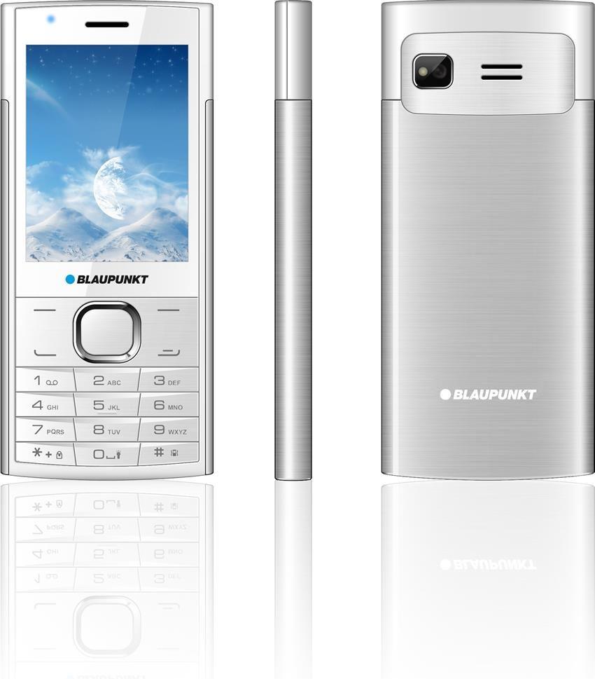 Blaupunkt FL 01 white-silver ENG Array Mobilais Telefons