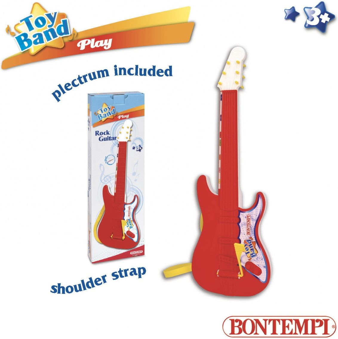 Bontempi Bontempi play rock gitara 54 cm DANT2428